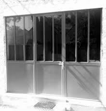 porte de garage pliante en fer style atelier fabrication dans notre atelier 41. Black Bedroom Furniture Sets. Home Design Ideas