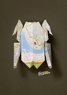 Hungry Go Where: Origami Chicken