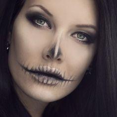 paso a paso sorprende a todos con este maquillaje en halloween belleza pinterest halloween maquillaje and us - Chrispy Halloween