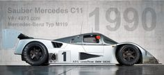 1990 Sauber Mercedes C11, one of the most intimidating cars in Gran Turismo 6