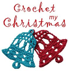 Crochet my Christmas bell design by Tuula Maaria