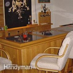 Home-Dzine - Build an indoor bar   Projects   Pinterest   Indoor bar ...