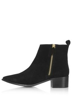 ALMIGHTY Suede Ankle Boots