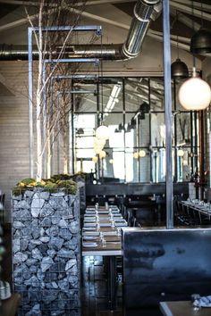 Butchertown Hall is a total interior design inspiration Stone Cold Stunner, Steel Wall, Interior Design Inspiration, Restaurant Bar, Coffee Shop, Most Beautiful, Building, Restaurants, Eyes