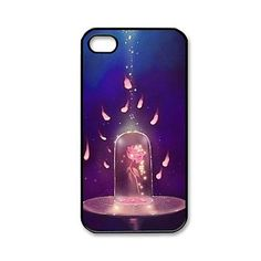 Custombox Beauty and the Beast  Plastic Hard Case Cover for iPhone 4/4S – USD $ 3.99
