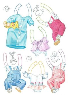 Paper Dolls~Happiness Is BabyLand - Bonnie Jones - Picasa Web Albums