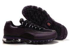 Nike Air Max 24-7 Shoes Mens Dark Purple Black 77969