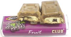 Club: like the Penguin bar, it was a packed-lunch or break-time treat. Club however, was a cut above the opposition for two basic reasons. They didn't shortchange on the chocolate: bite the corner off and occasionally the face of the bar would shear away, for an 'all chocolate' slab. Secondly, they came in a range of flavours and packets of five, which meant several packs were needed for efficient divvying. Crooked marketing genius.