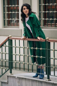 Everyday Icon: A spring flirt with Gamze Biran #HMMagazine | Read more at H&M Magazine