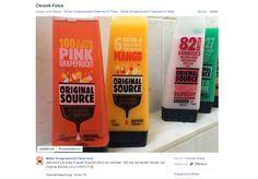 Gewinnt 100 Mal die neuen Duschgels von Original Source! Auf der Facebook-Seite von Müller DrogeriemarktÖsterreichkönnt...