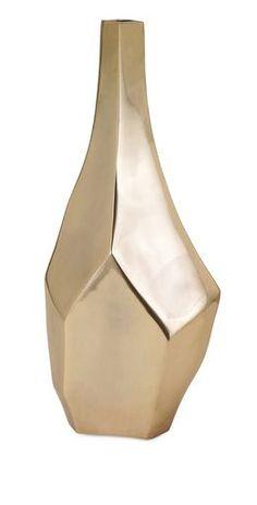 Charismatic Sienna Large Gold Vase