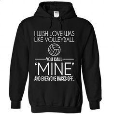 Volleyball Love - #custom hoodies #long sleeve shirt. SIMILAR ITEMS => https://www.sunfrog.com/Sports/Volleyball-Love-7970-Black-29663500-Hoodie.html?id=60505