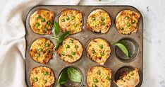 Muffin-pan fried rice cups