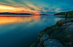 Photograph Ekne Norway by Aziz Nasuti on Peaceful Places, Norway, Landscapes, Sunset, Nature, Photography, Travel, Outdoor, Instagram