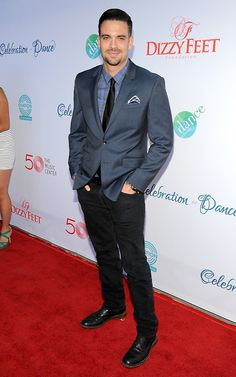 Mark Salling on the red carpet at the Dizzy Feet Foundation's Celebration of Dance Gala (July 2014