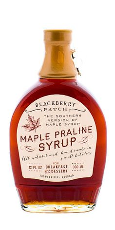 Maple syrup, Syrup and Blueberries on Pinterest