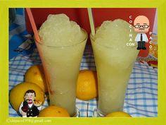 Cocina con Paco: Granizado de limón