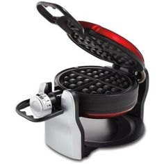 Oster Electric Double Flip Belgian Style Waffle Maker, Red | CKSTWFDF2-1-015 -- Want to know more, click on the image.