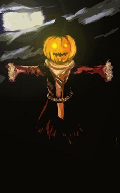 HalloweenScarecrow by DaarkOne.deviantart.com on @DeviantArt