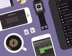 "查看此 @Behance 项目:""Codeanywhere App""https://www.behance.net/gallery/15200925/Codeanywhere-App"