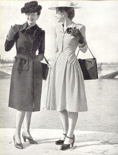 Typical street dress 1947