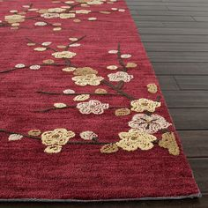 Isabella Rug in Red