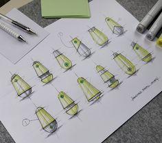 Design Sketches & Illustrations 2019 (Part on Behance Web Design, Sketch Design, Design Model, Graphic Design, Design Lab, Design Concepts, Portfolio Layout, Portfolio Design, Thumbnail Design