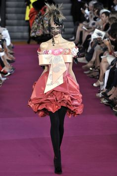 Christian Lacroix Haute Couture Fall 2008/2009.