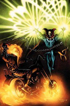 Mark Texeira - Ghost Rider vs Doctor Strange