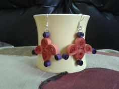 A Red and Purple Combination Jewellery