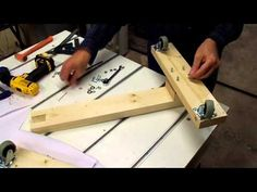 Planer Stand part 2 - YouTube