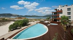 TroiaResidence - Apartamentos Turísticos Praia Troia Less than one hour from Lisbon on the Troia Peninsula, the 486-hectare Troia Resort offers luxurious, self-catering apartments with LCD TVs and panoramic ocean, marina or estuary views.