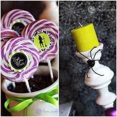 Accesorios de color para una fiesta Halloween / Colourful accesories for a Halloween party