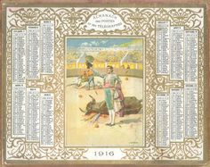 Almanach des Postes 1916