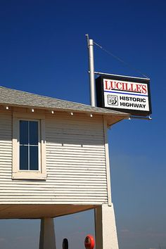 Route 66 - Lucille's Gas Station in Oklahoma
