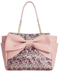 Betsey Johnson Macy's Exclusive Shopper it looks so much more glamourous in person - shop purses online, branded ladies handbags, ladies purse and bags *ad Betsy Johnson Purses, Betsey Johnson Handbags, Fashion Handbags, Purses And Handbags, Fashion Bags, Ladies Handbags, Ladies Purse, Stylish Handbags, Gucci Purses