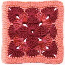gorgeous granny Book: 200 Crochet Blocks for Blankets, Throws, and Afghans: Crochet Squares to Mix and Match square. now this looks fun Crochet Motifs, Crochet Blocks, Crochet Squares, Crochet Stitches, Crochet Patterns, Granny Squares, Crochet Afghans, Crochet Ideas, Crochet Crafts