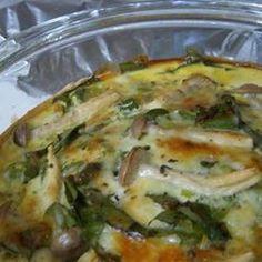 Crustless Spinach Quiche | Recipe | Spinach Quiche Recipes, Quiche ...