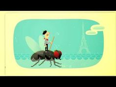 Funny & beautifully animated video about French stereotypes. (Some parts may not be appropriate for younger students)