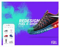 """Check out new work on my @Behance portfolio: """"Redesign Fuel e-shop 
