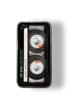 iPhone 4/4S Case Retro Cassette