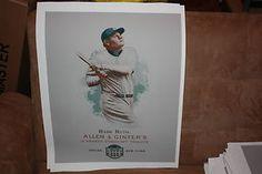 Lot of 10 Ten Babe Ruth eTopps Canvas Print 16x20 A G New York Yankees HOF | eBay