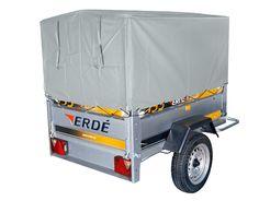 Bache fourgonette avec armature ERDE 233 - 234x4 - LeKingStore