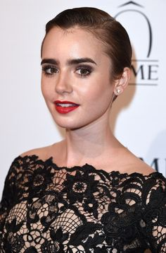 Lily Collins wasted no time wearing Madewell's exclusive new collab