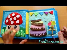 Libro silencioso, Quiet Book 2 - Fieltromania - YouTube