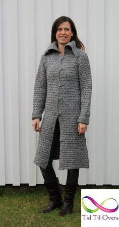 Strikket bryllupsgave – del 1 – Tid Til Overs Fur Coat, Jackets, Fashion, Down Jackets, Moda, Fashion Styles, Fashion Illustrations, Fur Coats, Fur Collar Coat