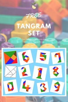 46 best Tangram images on Pinterest in 2018 | Math games, Preschool ...