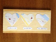 Just made this for Andrew for our little anniversary :) #diy #gift #boyfriend