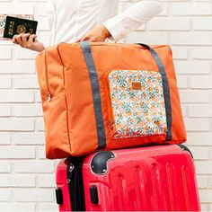 30L Large Travel Bag Luggage Folding Handbag Shoulder Bag Waterproof Storage Bag Storage Containers - Newchic Mobile.