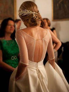 Får man backa in till sitt eget bröllop?